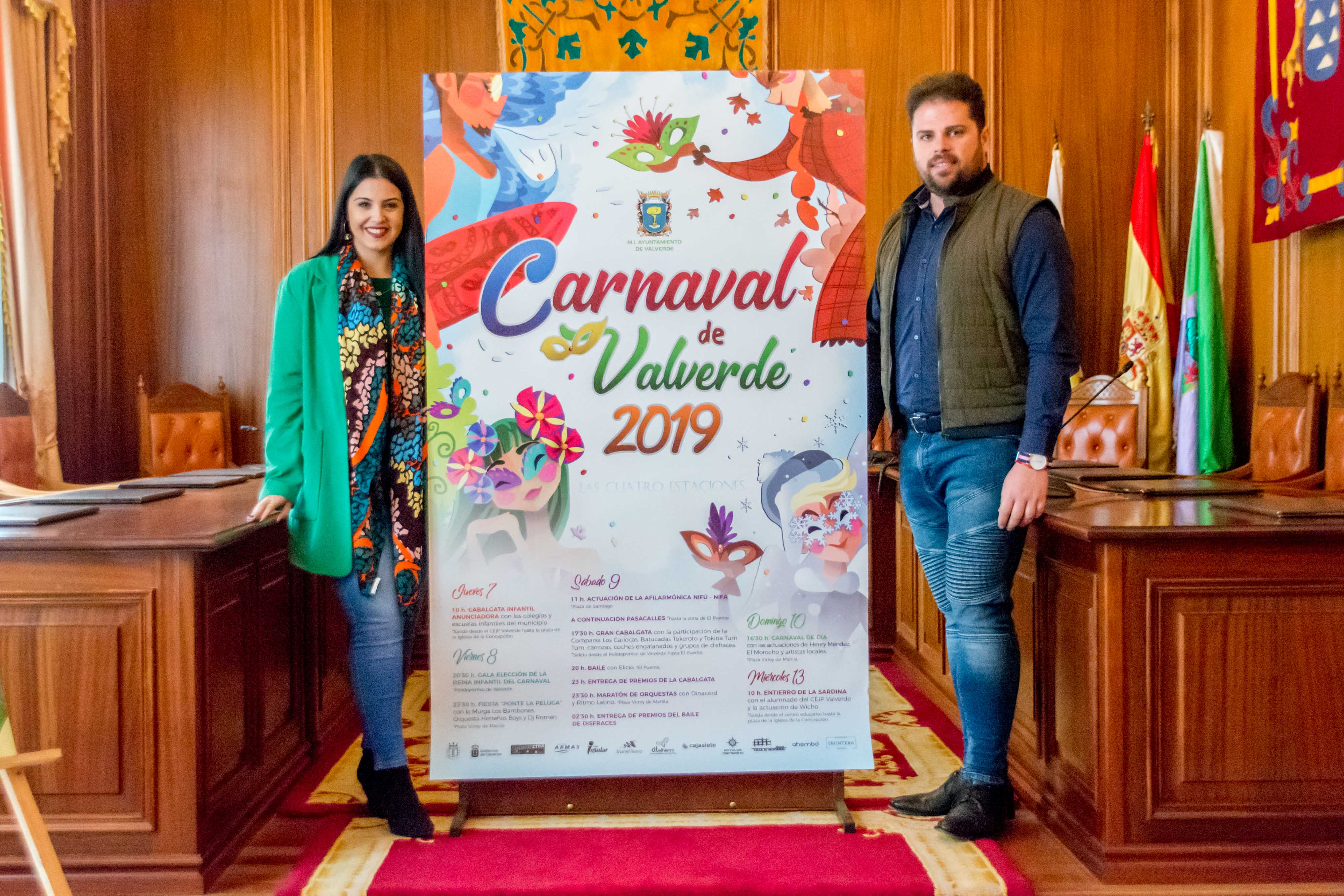 Valverde programa actos carnaval 2019
