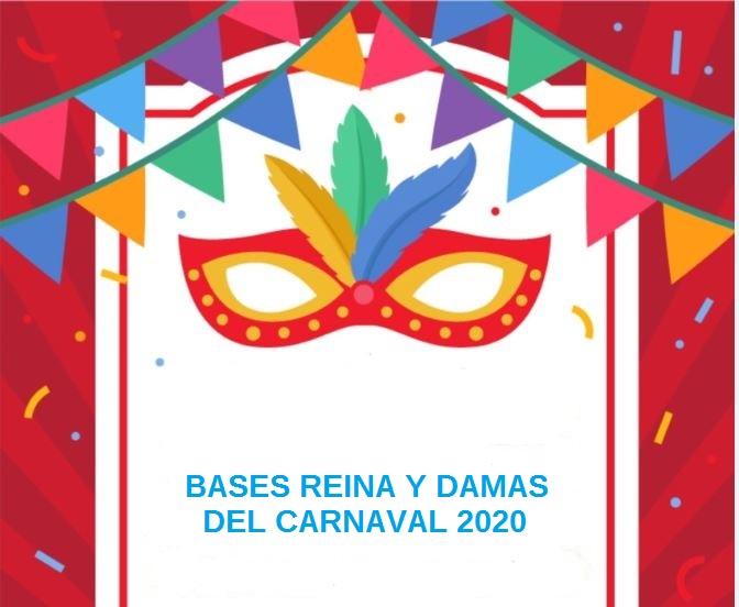 Bases Reina y Damas Carnaval 2020